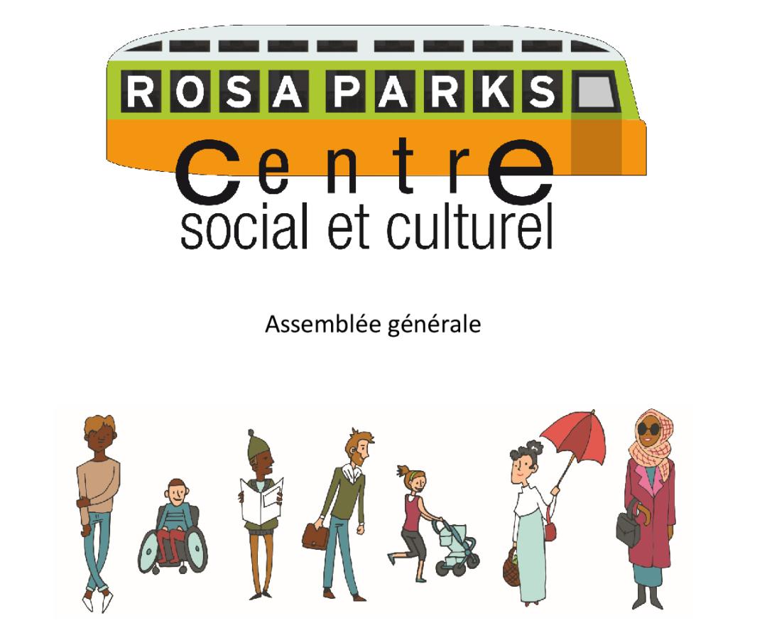 Invitation à l'assemblée générale du centre Rosa-Parks