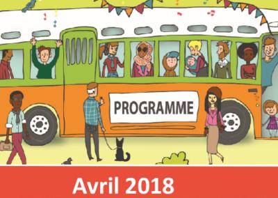 Le mois d'avril au centre social et culturel Rosa-Parks