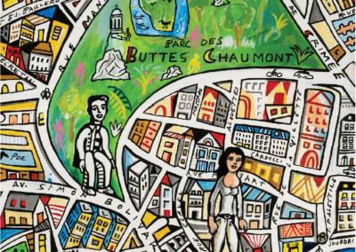 «Paris en plan» Exposition de Simon Pradinas