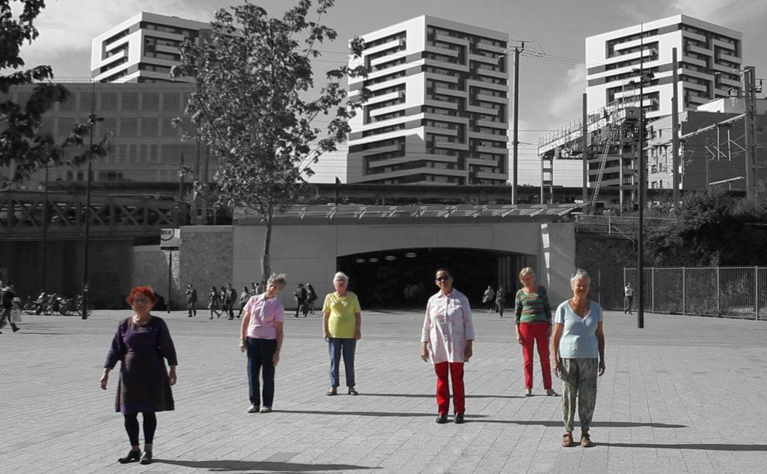 Les Pierrettes dans la ville – Danse séniors