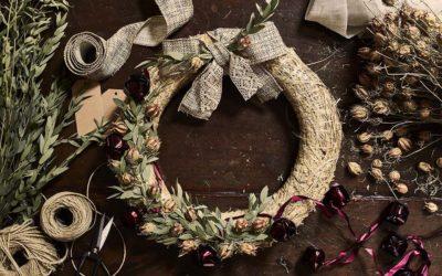 Atelier couronnes de Noël